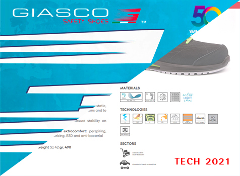 Giasco Tech Safety Shoes